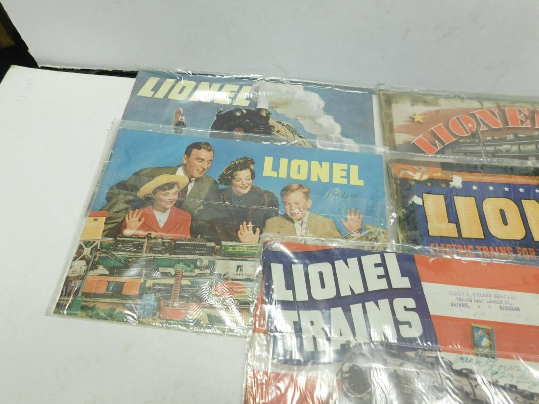 (7) 1940s Lionel Train Catalogs - 2