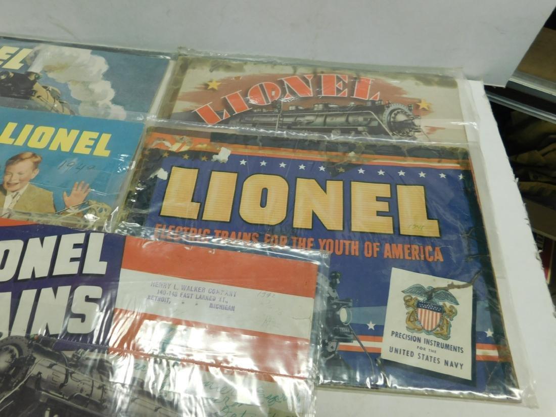 (7) 1940s Lionel Train Catalogs - 3