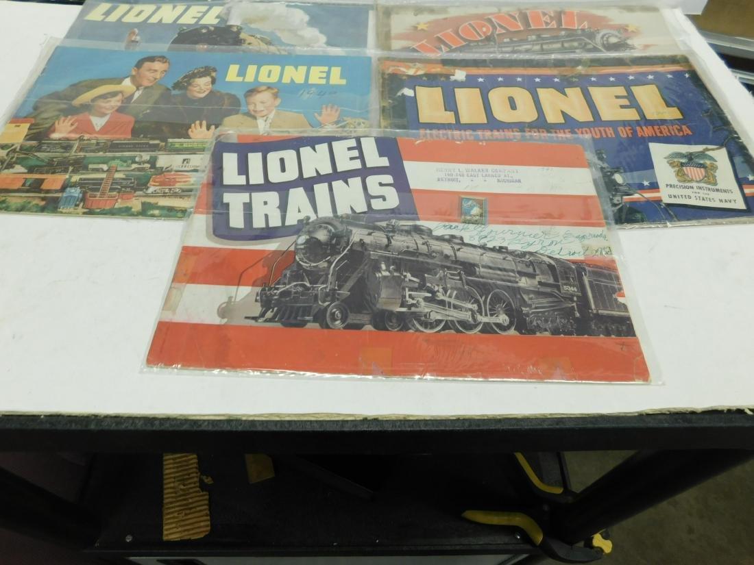 (7) 1940s Lionel Train Catalogs - 4