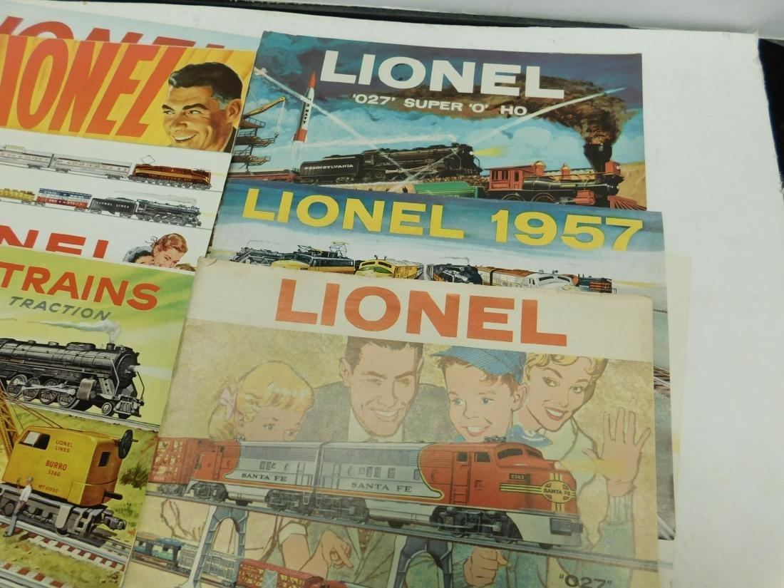 (7) 1950s-60s Lionel Consumer Catalogs - 2