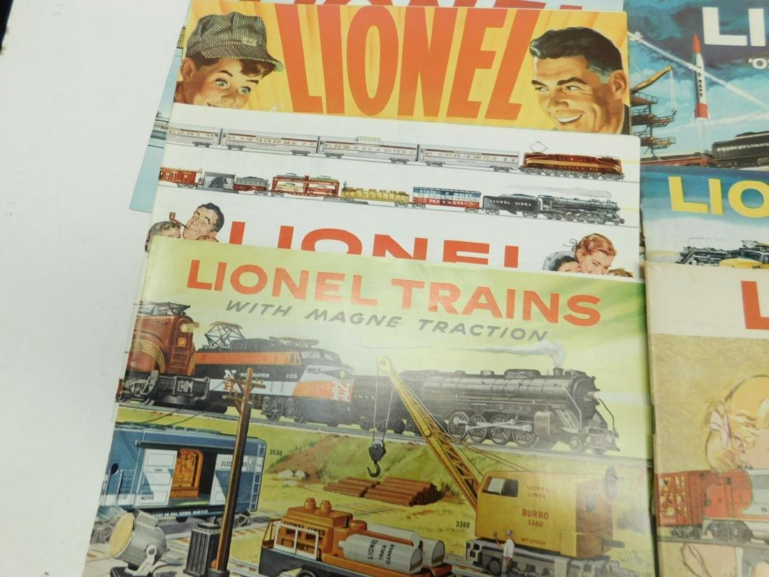 (7) 1950s-60s Lionel Consumer Catalogs - 3