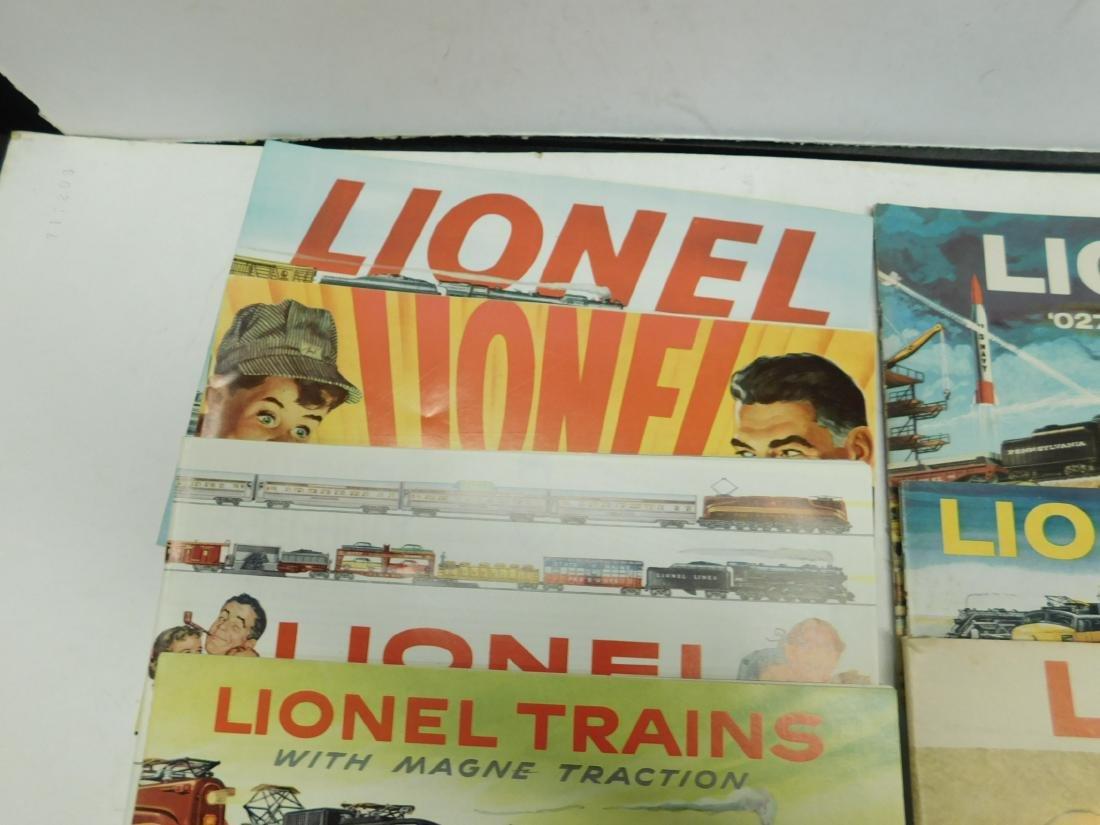 (7) 1950s-60s Lionel Consumer Catalogs - 4