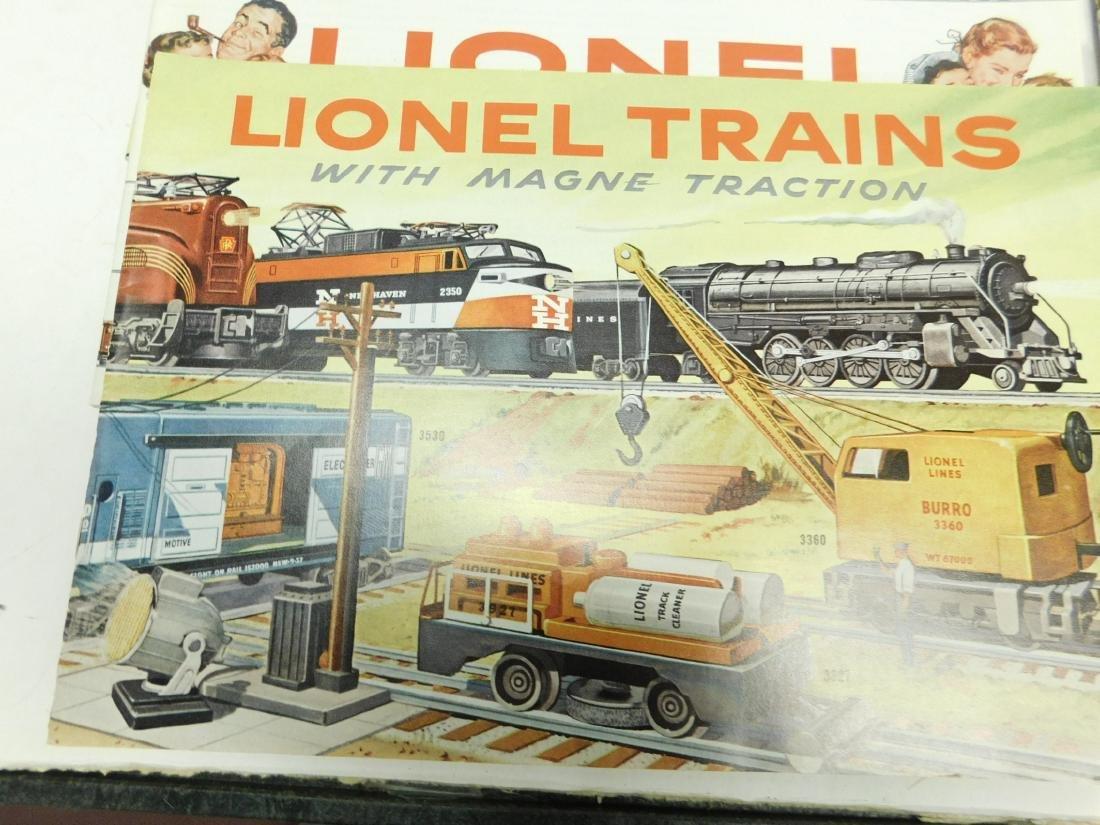 (7) 1950s-60s Lionel Consumer Catalogs - 5