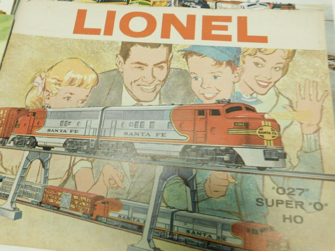 (7) 1950s-60s Lionel Consumer Catalogs - 6
