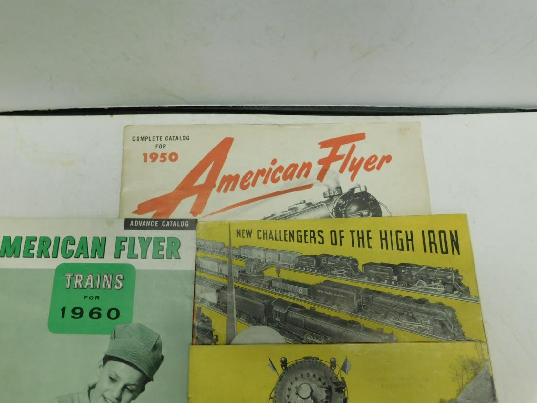 4 American Flyer Train Merchandise Catalogs - 2