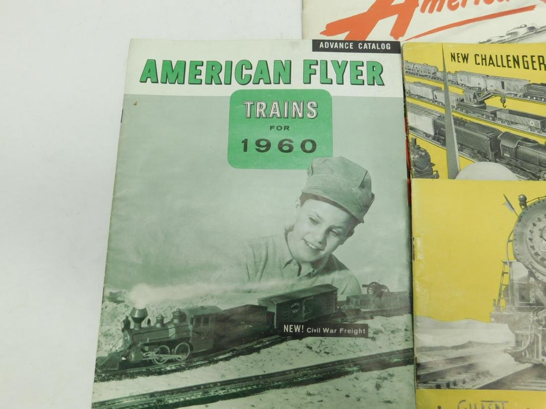 4 American Flyer Train Merchandise Catalogs - 3