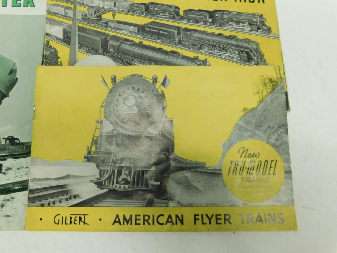 4 American Flyer Train Merchandise Catalogs - 4
