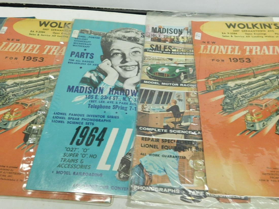 Five 1950s-60s Store Lionel & Other Catalogs - 3