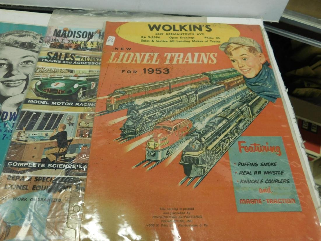 Five 1950s-60s Store Lionel & Other Catalogs - 4