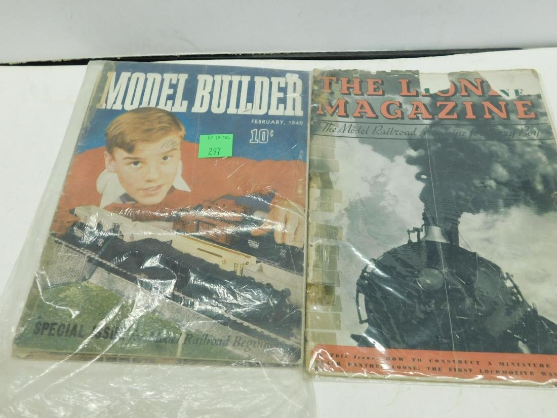 4-1930s & 40s Model Train Magazines