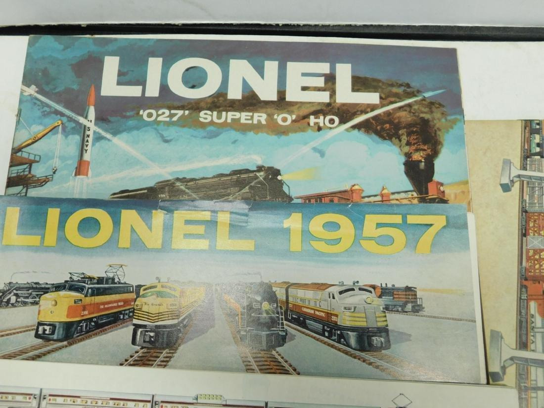 (6)1950s-60s Lionel Consumer Train Catalogs - 2