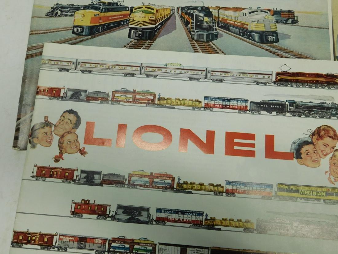 (6)1950s-60s Lionel Consumer Train Catalogs - 3