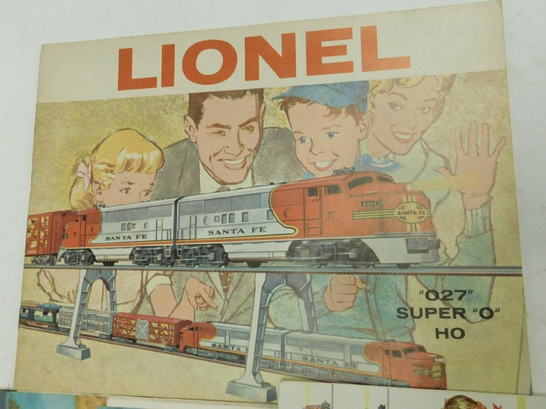 (6)1950s-60s Lionel Consumer Train Catalogs - 4