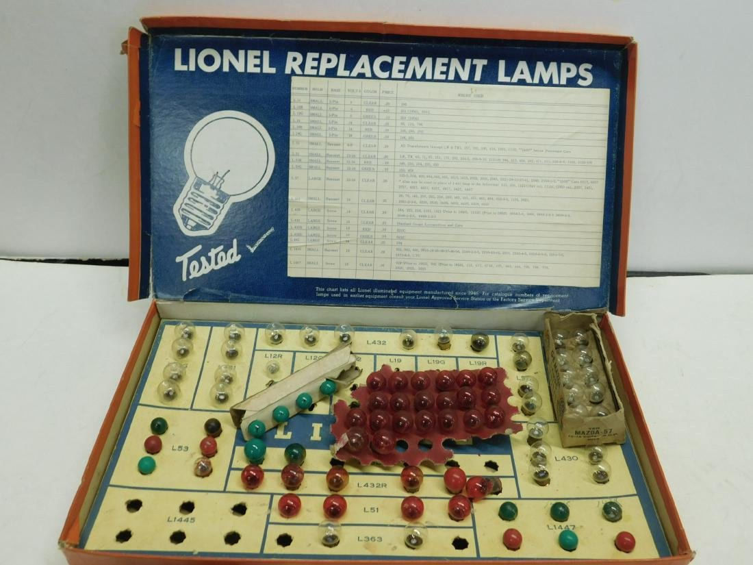 Lot Lionel & Other Train Replacement Bulb