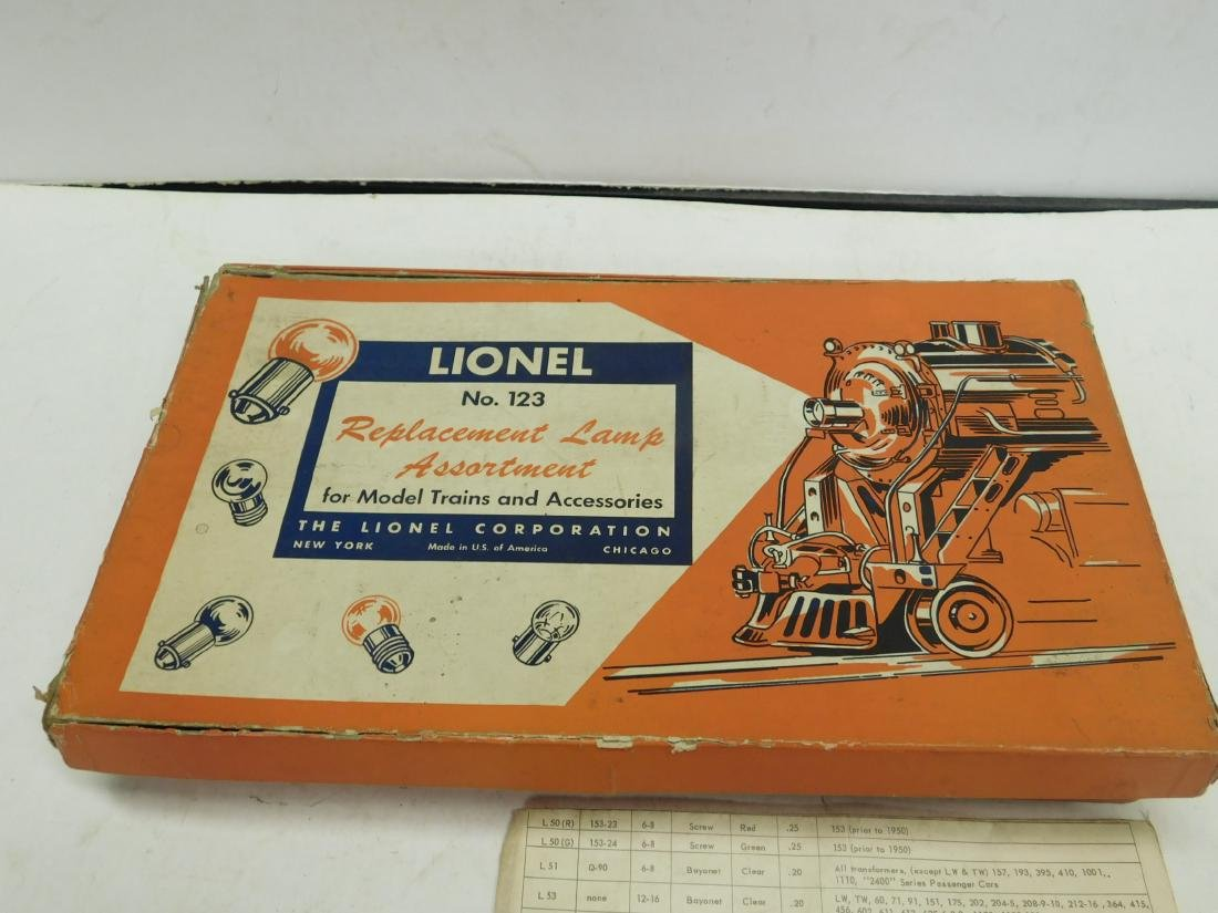 Lot Lionel & Other Train Replacement Bulb - 3