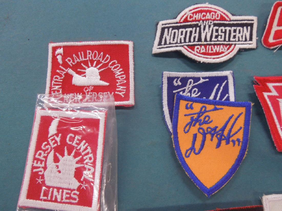 Lot Assorted Railroad Patches - 2
