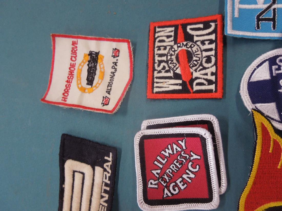 Lot Assorted Railroad Patches - 4