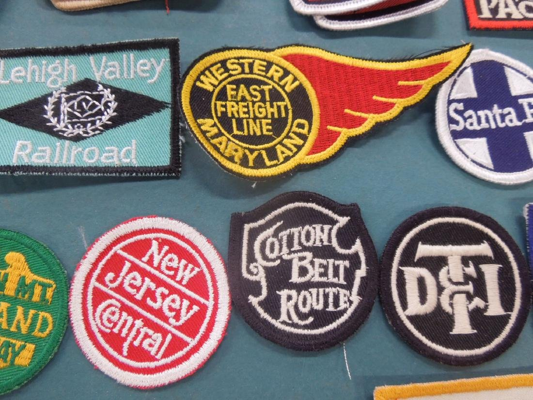 Lot Assorted Railroad Patches - 6