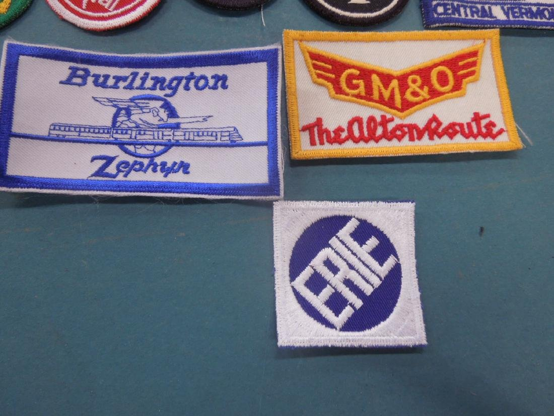 Lot Assorted Railroad Patches - 8