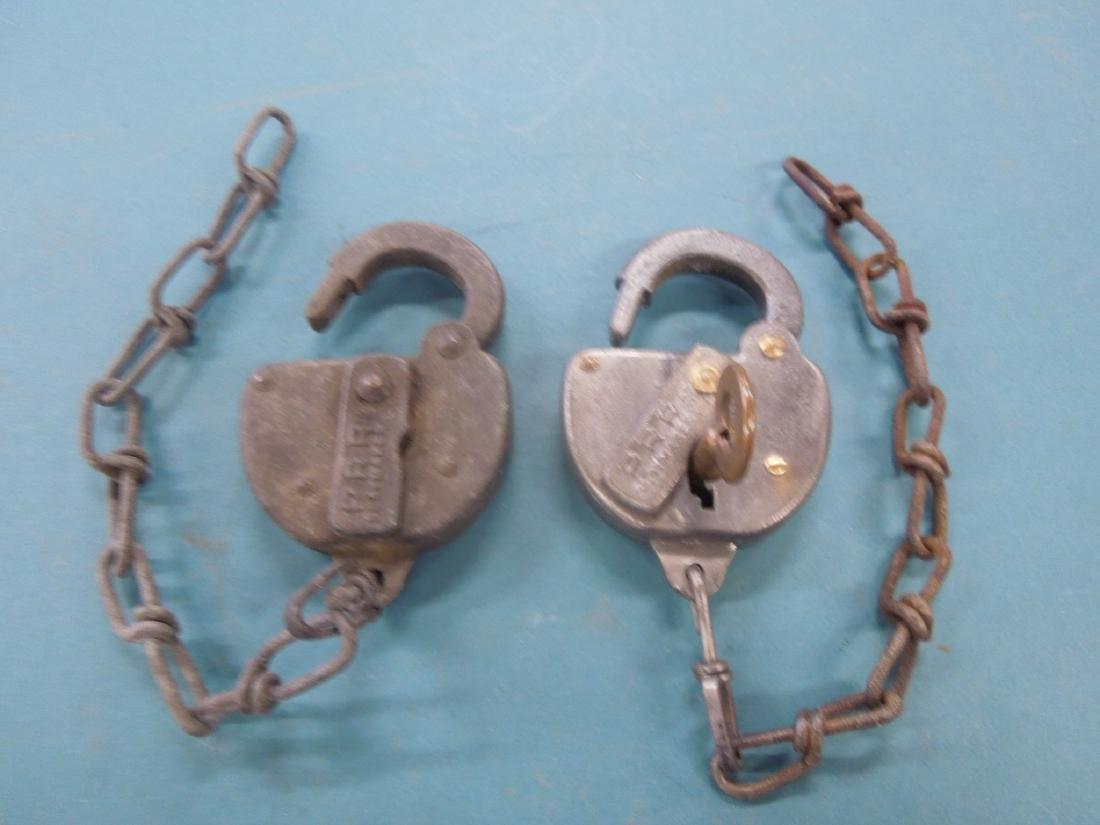 2 P.R.R. Switch Locks with Key