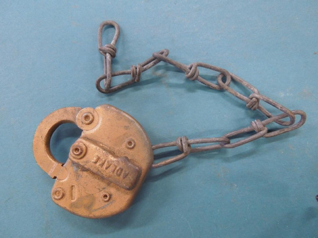 Adlake Railroad Switch Lock