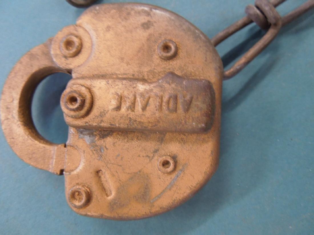 Adlake Railroad Switch Lock - 2