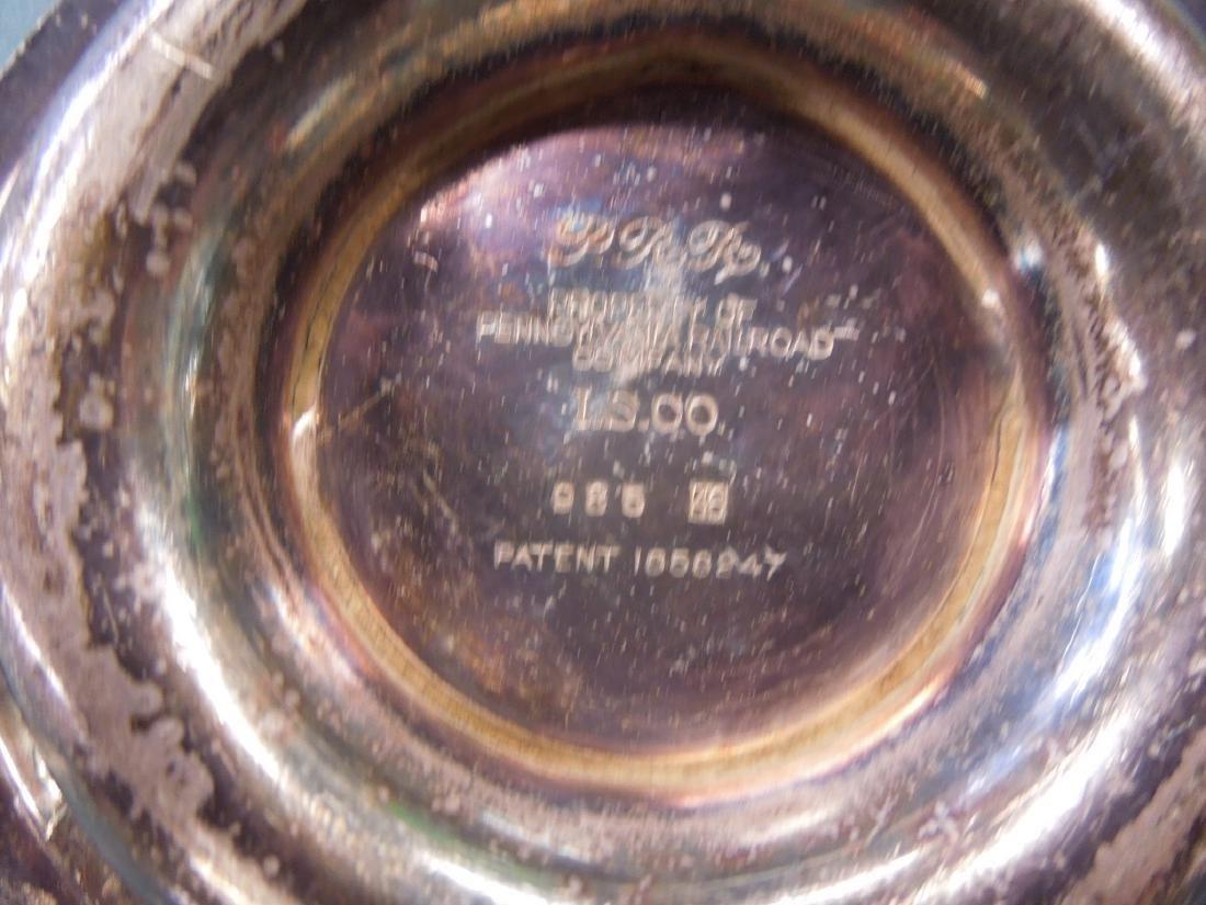 3 Pennsylvania Railroad Silver Plate Pieces - 6