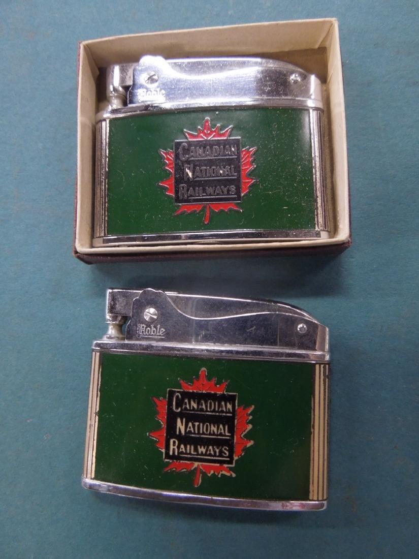 6 Vintage Railroad Lighters - 2
