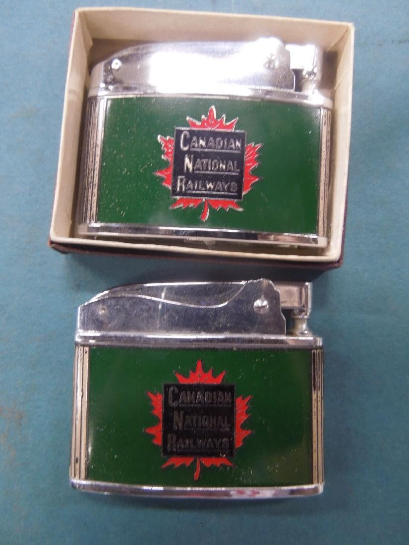 6 Vintage Railroad Lighters - 3