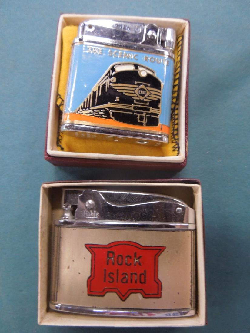 6 Vintage Railroad Lighters - 4