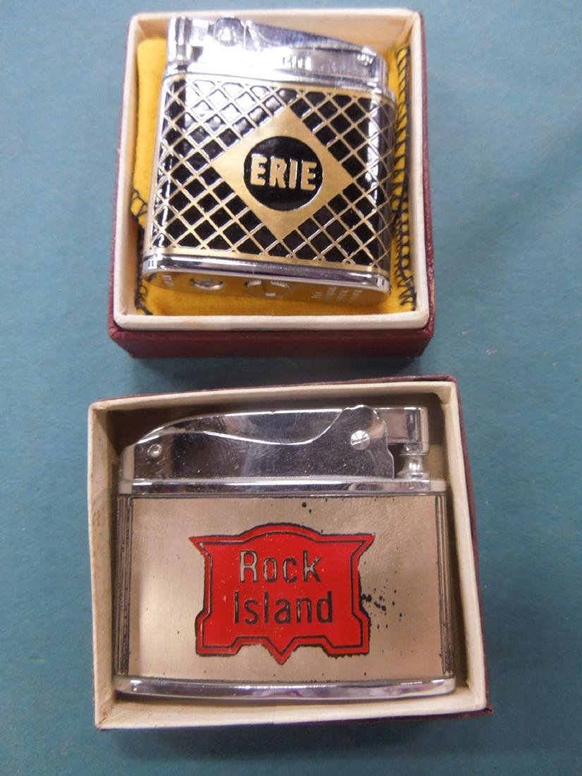 6 Vintage Railroad Lighters - 5