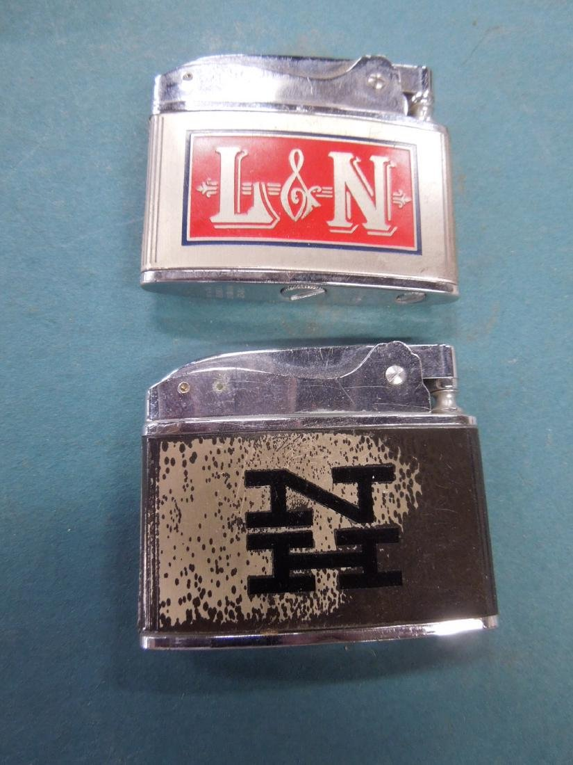 6 Vintage Railroad Lighters - 7