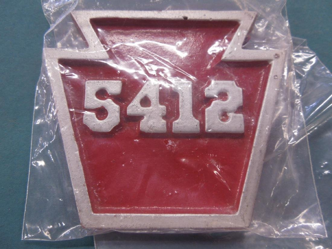 Assorted P.R.R. Metal Plaques & Other - 2