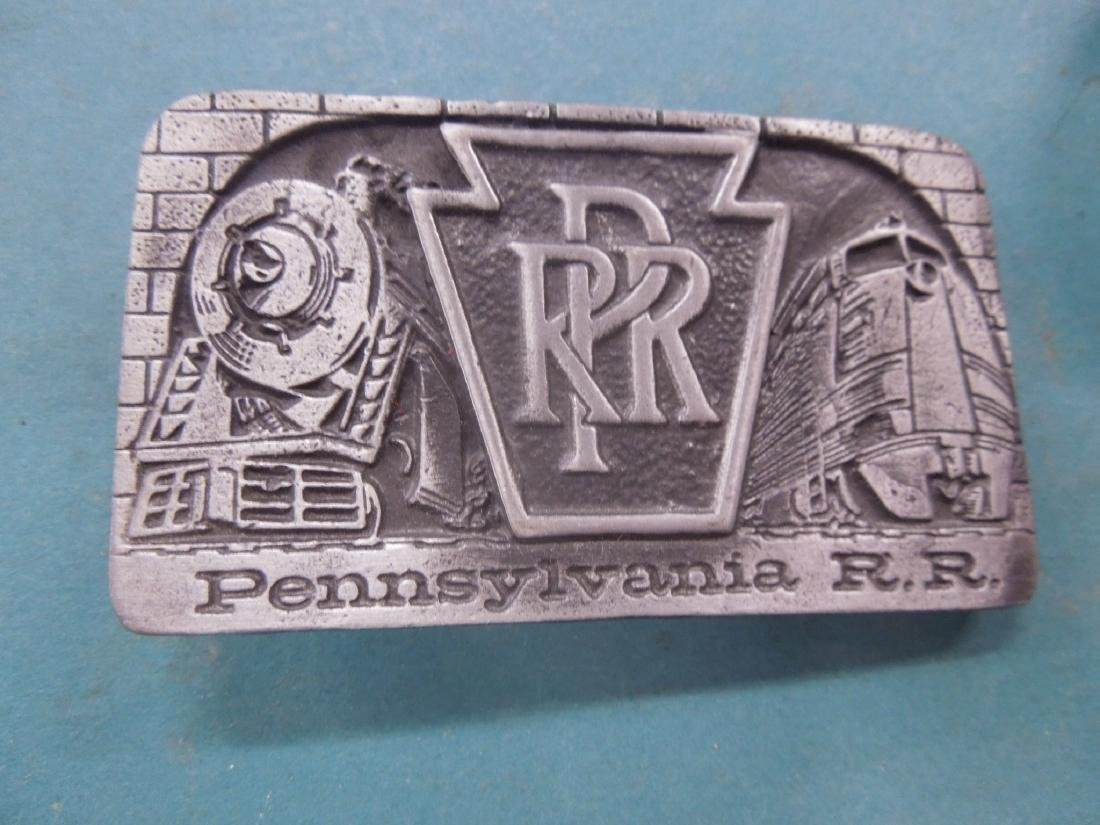 Assorted P.R.R. Metal Plaques & Other - 4
