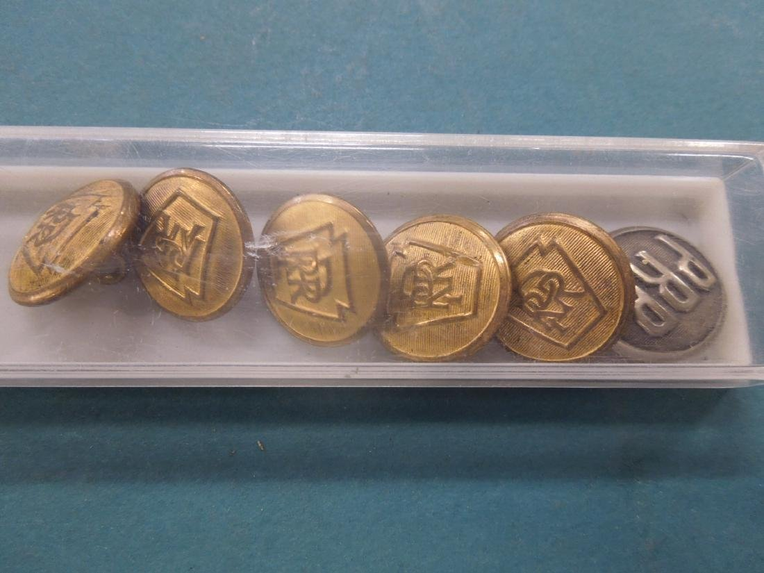 Assorted P.R.R. Pins & Buttons - 2