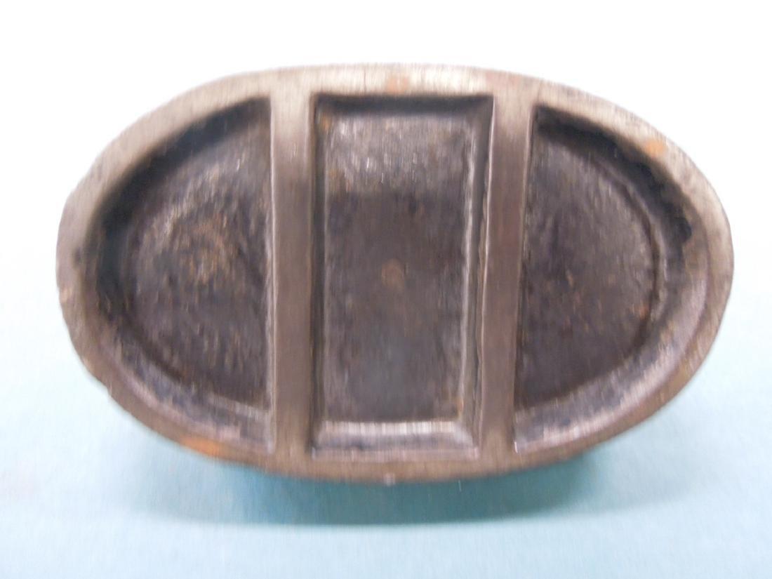 Antique Cast iron P.R.R. Paperweight - 2