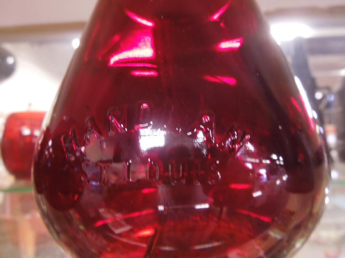 5 Red Lantern Globes - 3