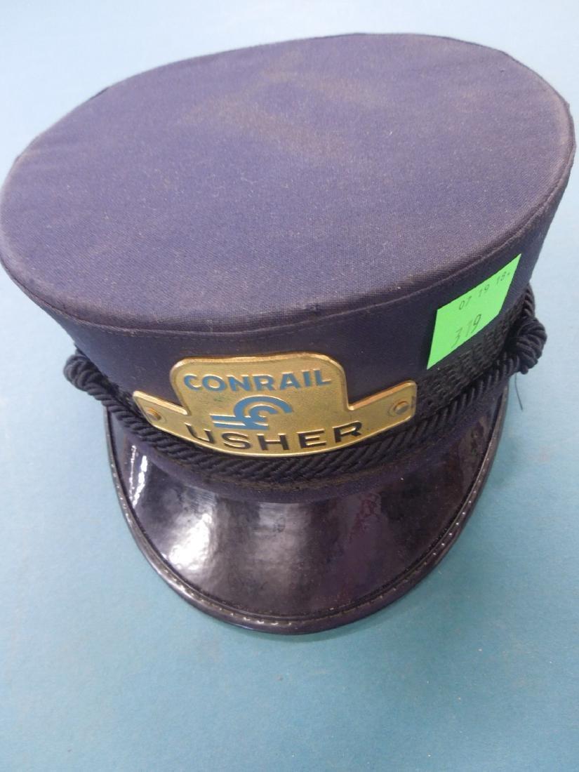Conrail Usher's Railroad Cap