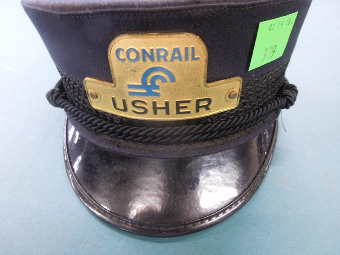 Conrail Usher's Railroad Cap - 2