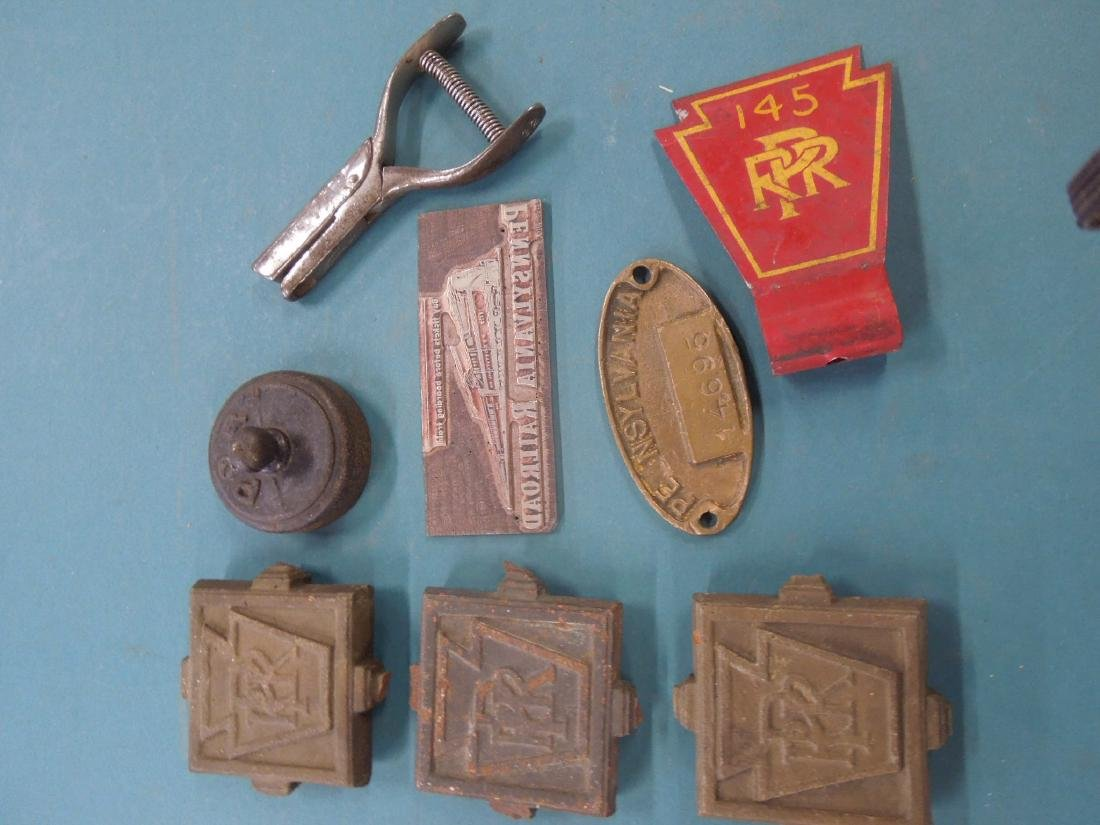 Assorted P. R. R. Metal Collection