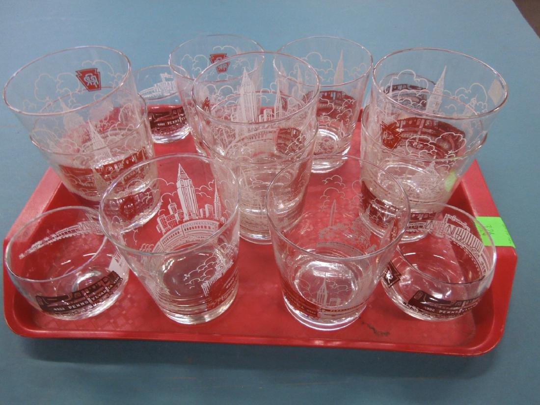 Pennsylvania Railroad Glassware