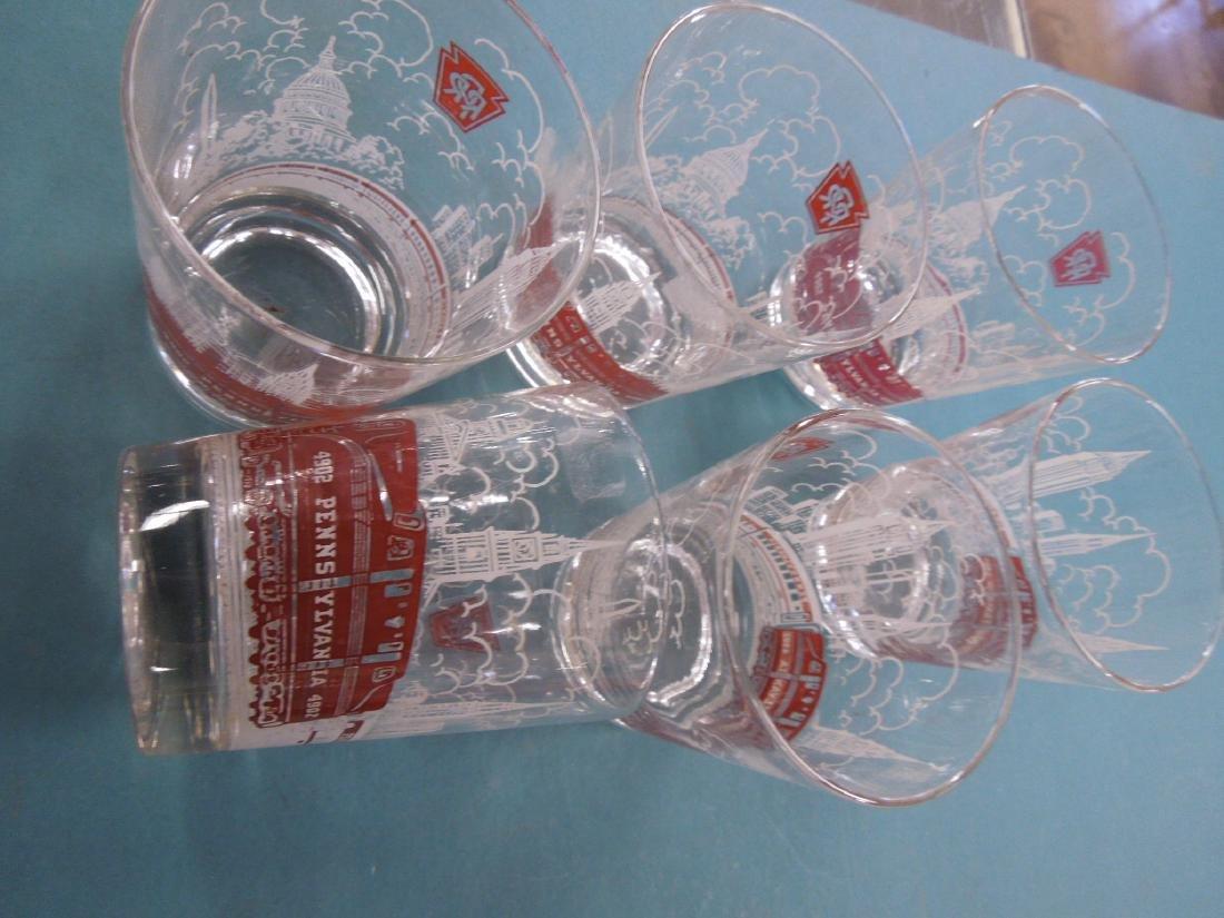 Pennsylvania Railroad Glassware - 2