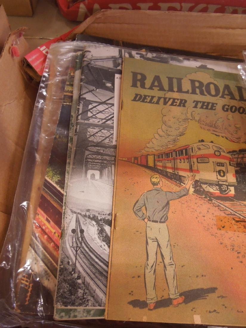 Lot Assorted Railroad Ephemera - 5