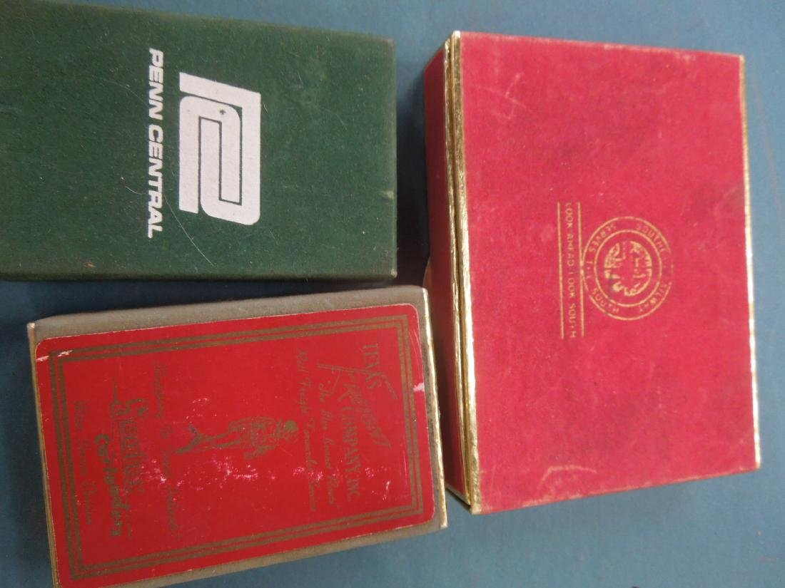 Packs of Assorted Railroad Playing Cards - 2