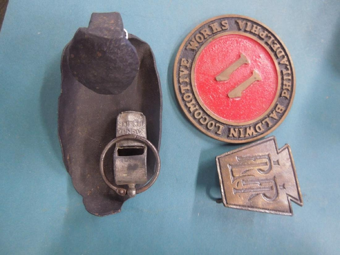 Lot Assorted Railroad Collectibles - 3