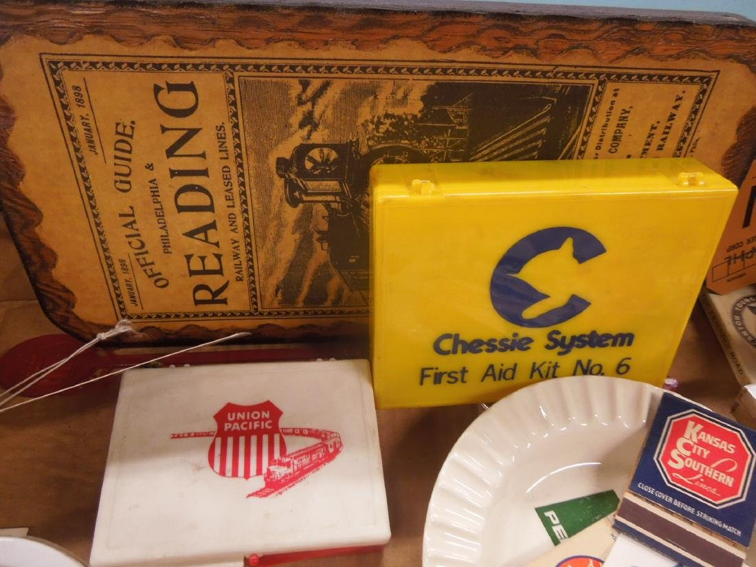 Lot Assorted Railroad Collectibles - 6