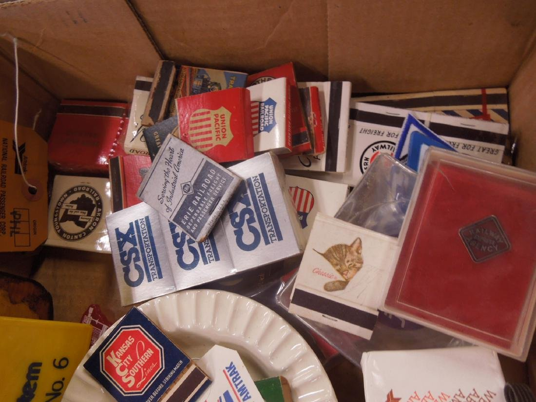 Lot Assorted Railroad Collectibles - 7
