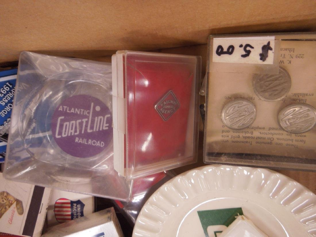 Lot Assorted Railroad Collectibles - 9