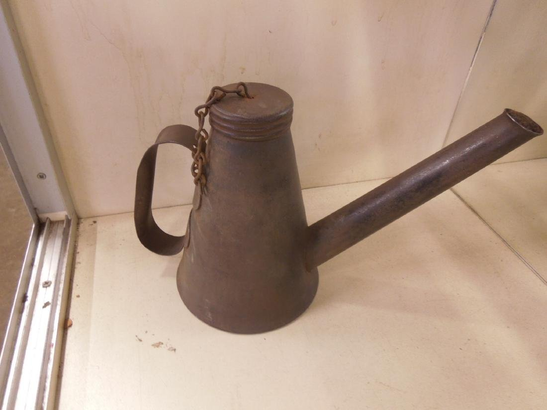 3pcs. Vintage Railroad Torches & Oil Can - 4