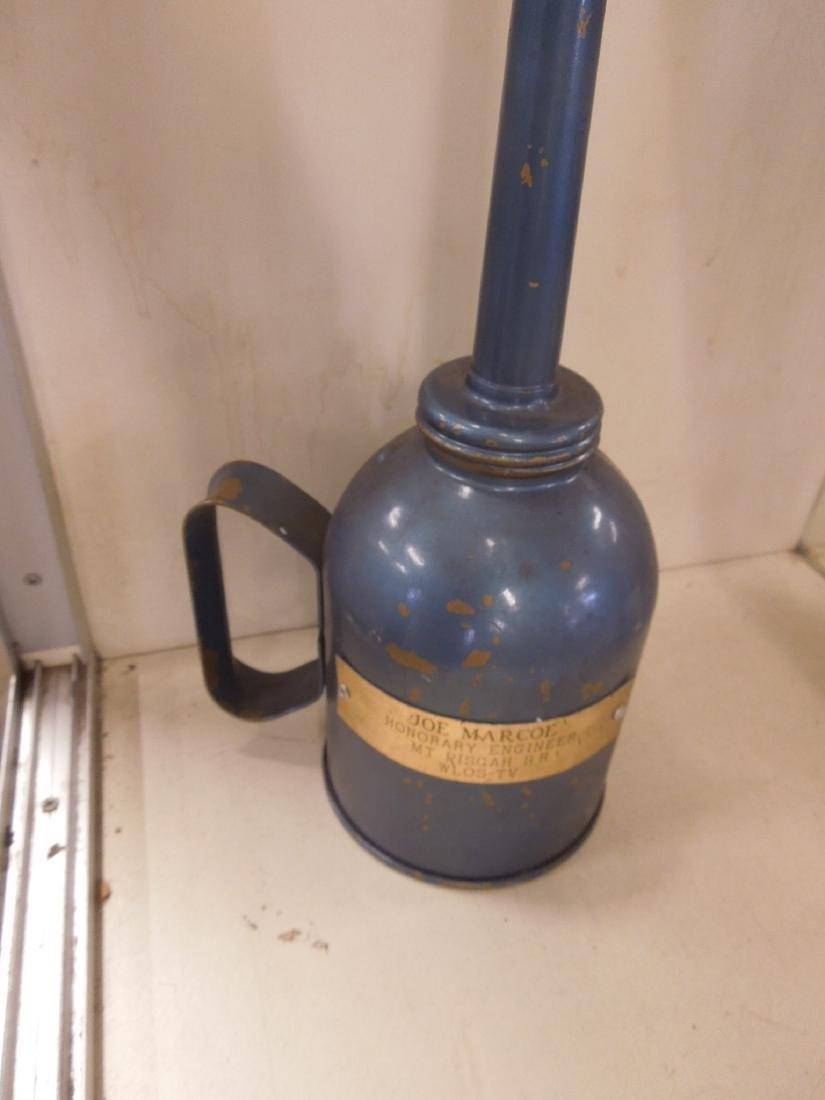 3pcs. Vintage Railroad Torches & Oil Can - 6